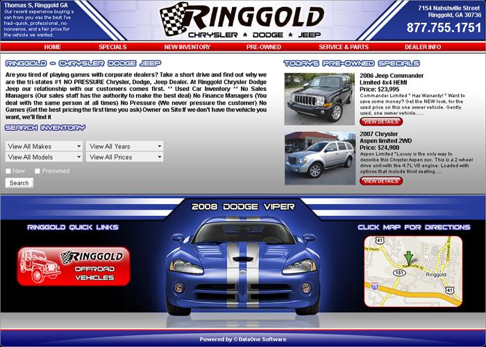 Ringold CDJ Website