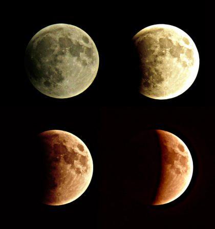 Super Blood Moon Photoshoot