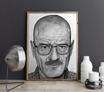 The One Who Knocks (Graphite Pencils)