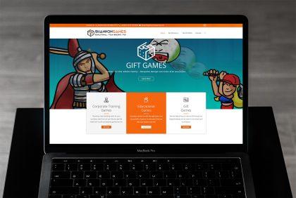 Shannon Games Website