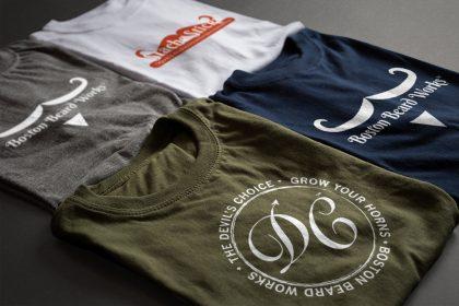 Boston Beard Works Branding (Various Logos)