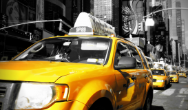 Manhattan Yellow Cabs
